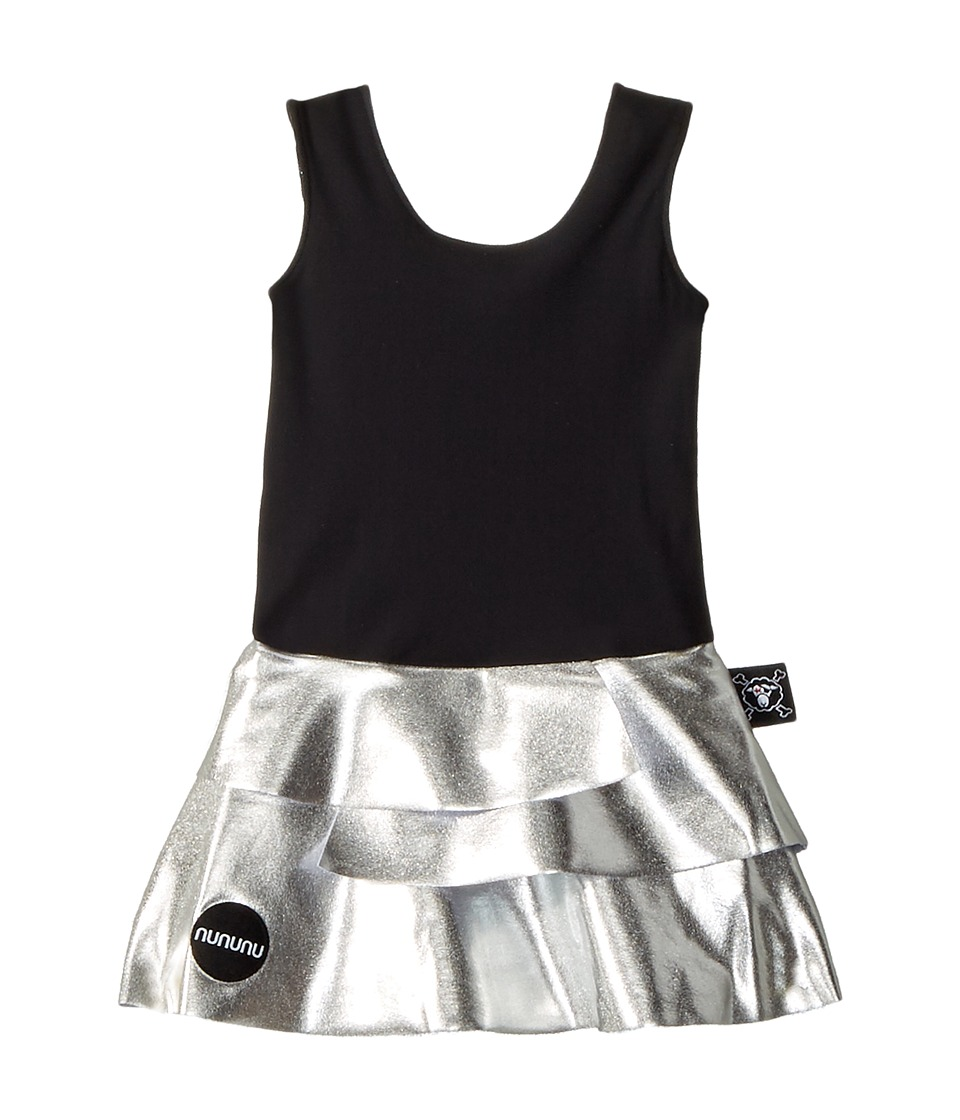 Nununu Skirtini (Infant/Toddler/Little Kids) (Black/Silver) Girl