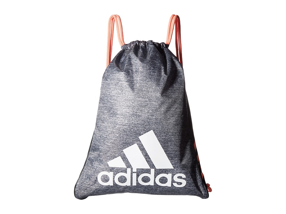 adidas - Burst Sackpack (Onix Jersey/Sun Glow/Black/White) Bags