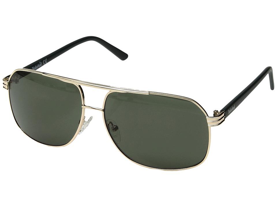 Timberland - TB7128 (Gold/Green) Fashion Sunglasses