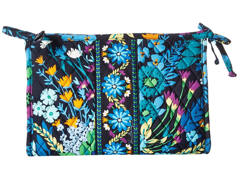 Vera Bradley - Large Bow Cosmetic (Midnight Blues) Cosmetic Case