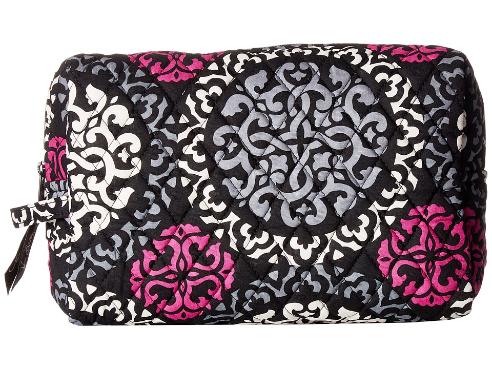 Vera Bradley - Large Cosmetic (Canterberry Magenta) Cosmetic Case