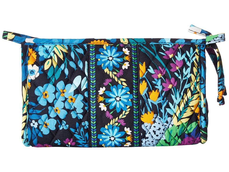 Vera Bradley - Medium Bow Cosmetic (Midnight Blues) Cosmetic Case