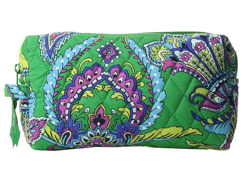 Vera Bradley - Medium Cosmetic (Emerald Paisley) Cosmetic Case