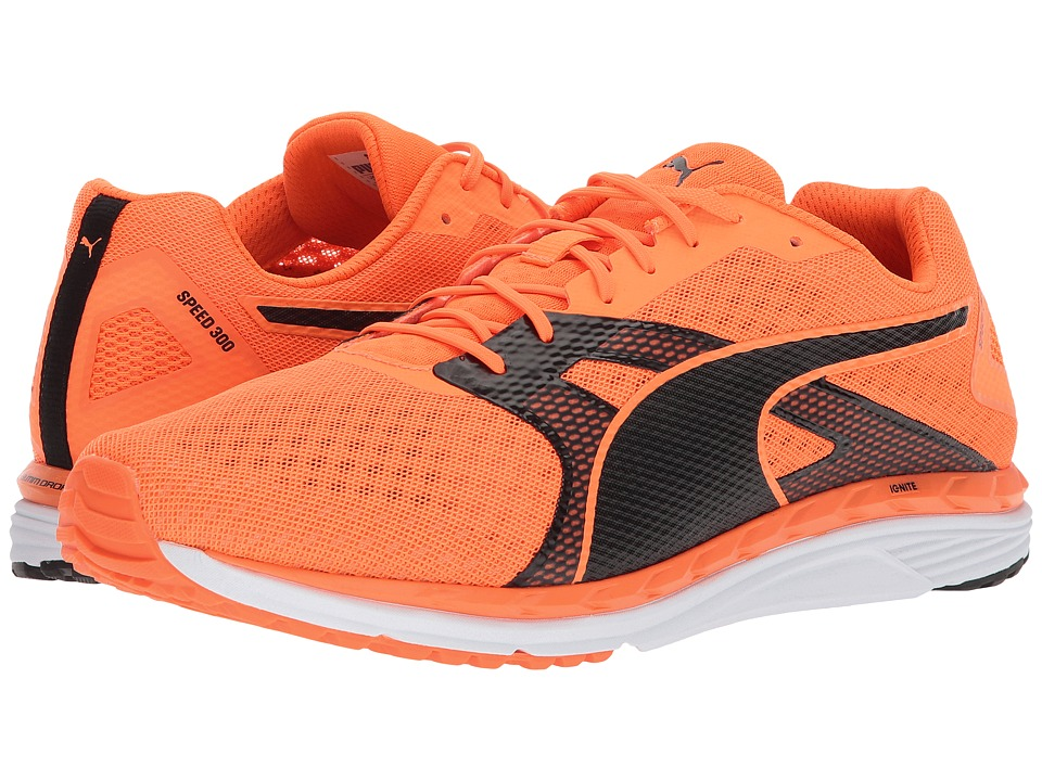 PUMA - Speed 300 Ignite 2 (Shocking Orange/Puma Black) Men's Shoes