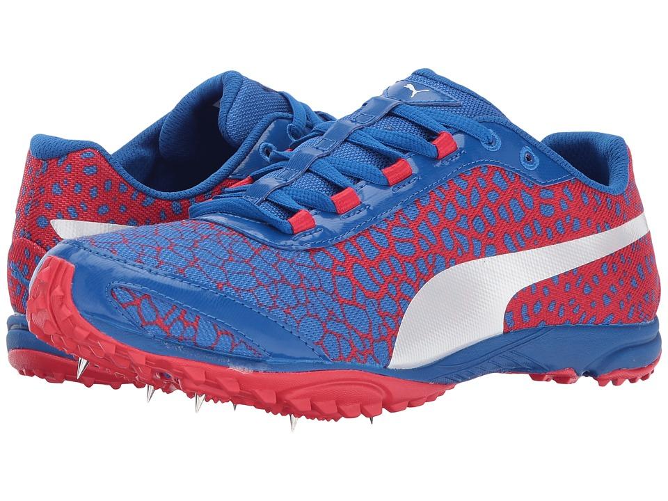 PUMA - evoSPEED Haraka 4 (Lapis Blue/Toreador) Men's Shoes