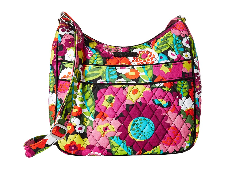 Vera Bradley - Carryall Crossbody (Va Va Bloom) Cross Body Handbags