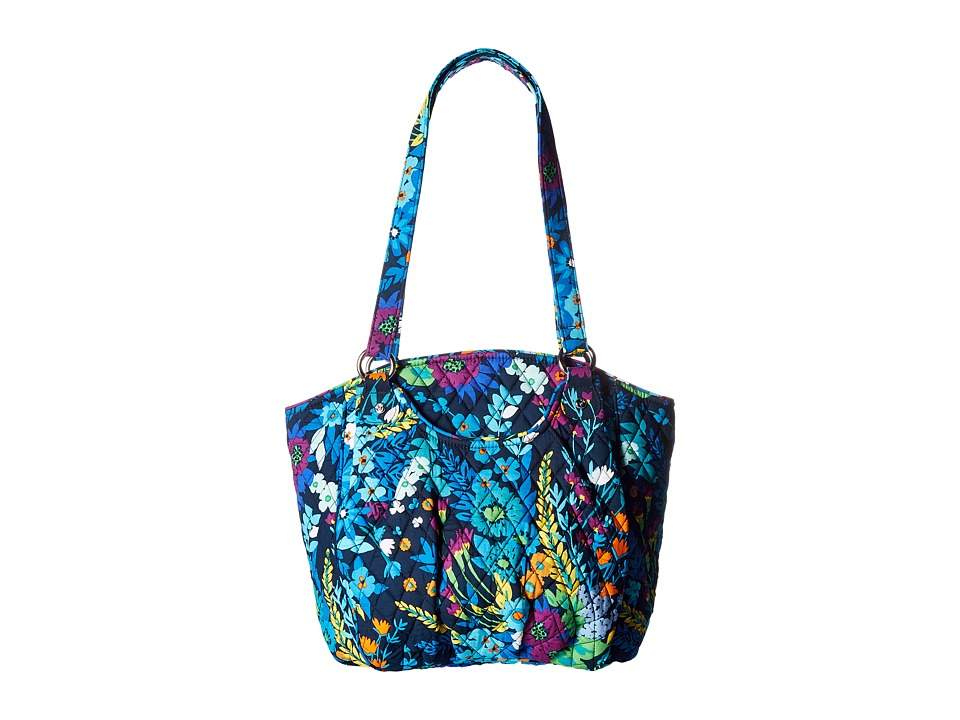 Vera Bradley - Glenna (Midnight Blues) Satchel Handbags