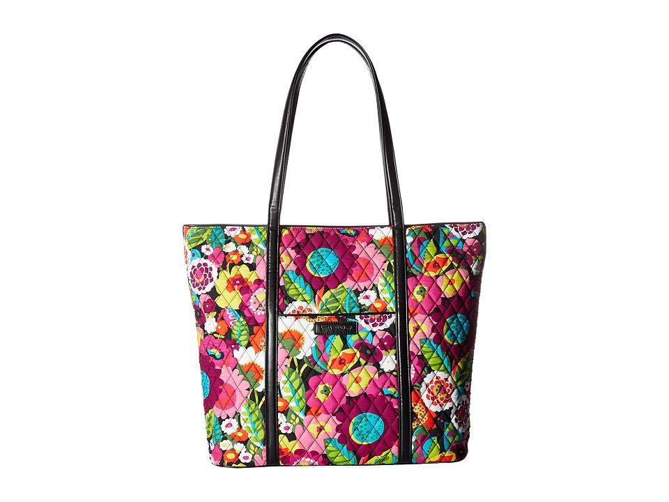 Vera Bradley - Trimmed Vera (Va Va Bloom) Tote Handbags