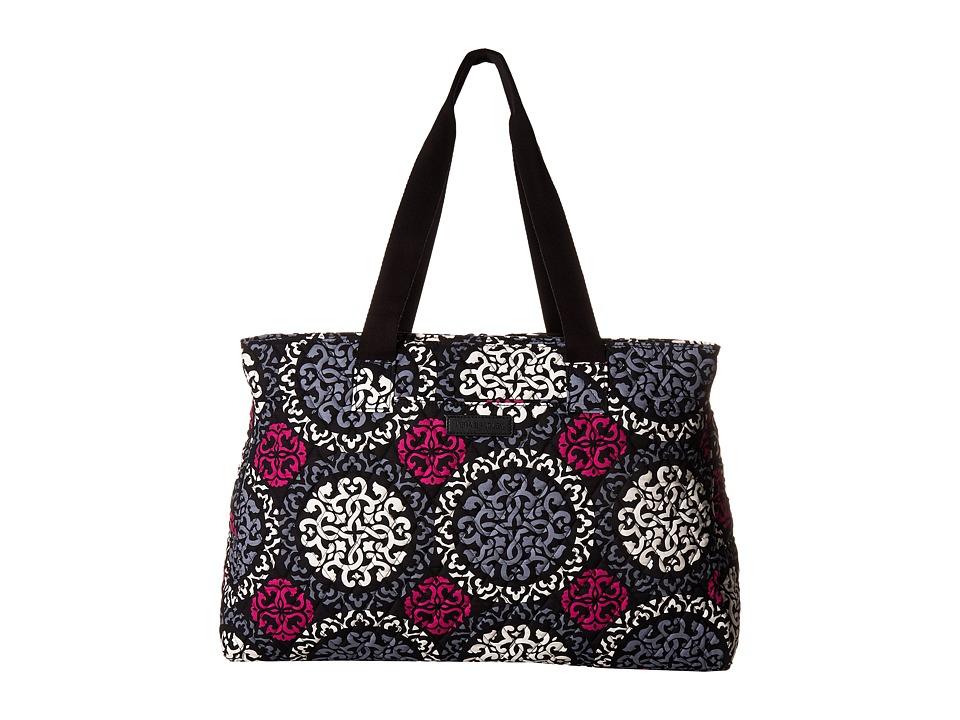 Vera Bradley - Triple Compartment Travel Bag (Canterberry Magenta) Bags