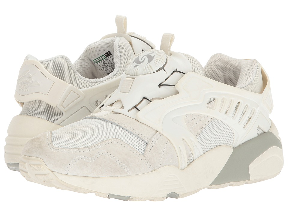 PUMA - Disc Polly (Star White/Star White/Whisper White) Women's Shoes