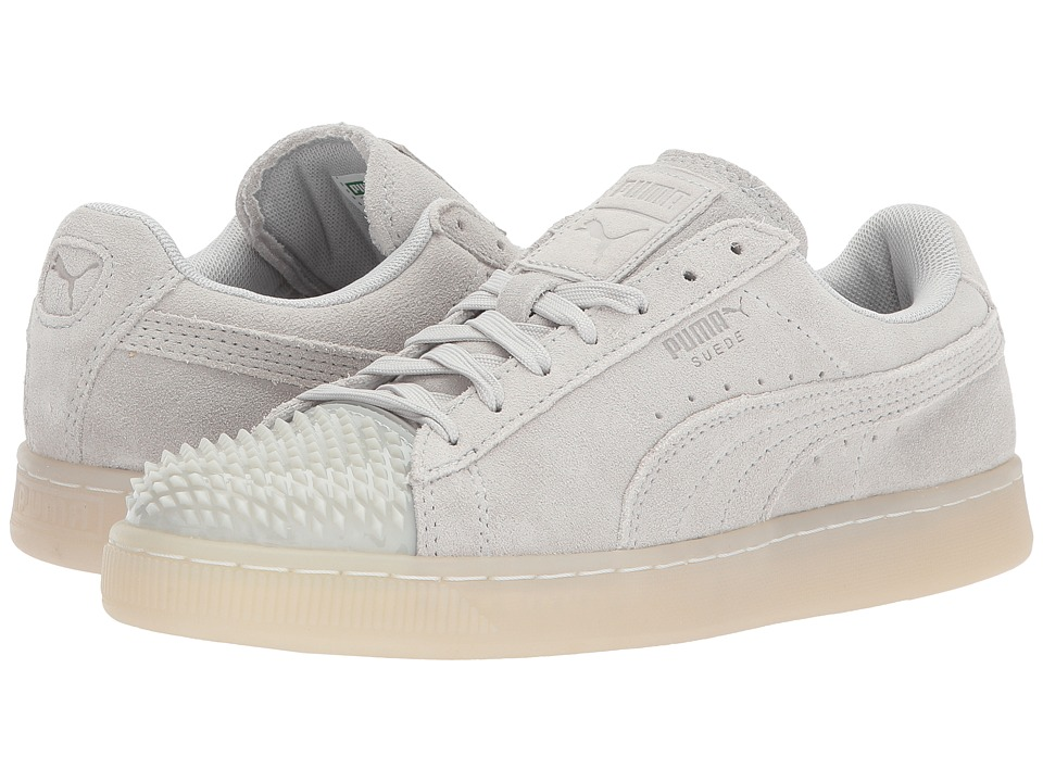 PUMA - Suede Jelly (Glacier Gray/Glacier Gray) Women's Shoes