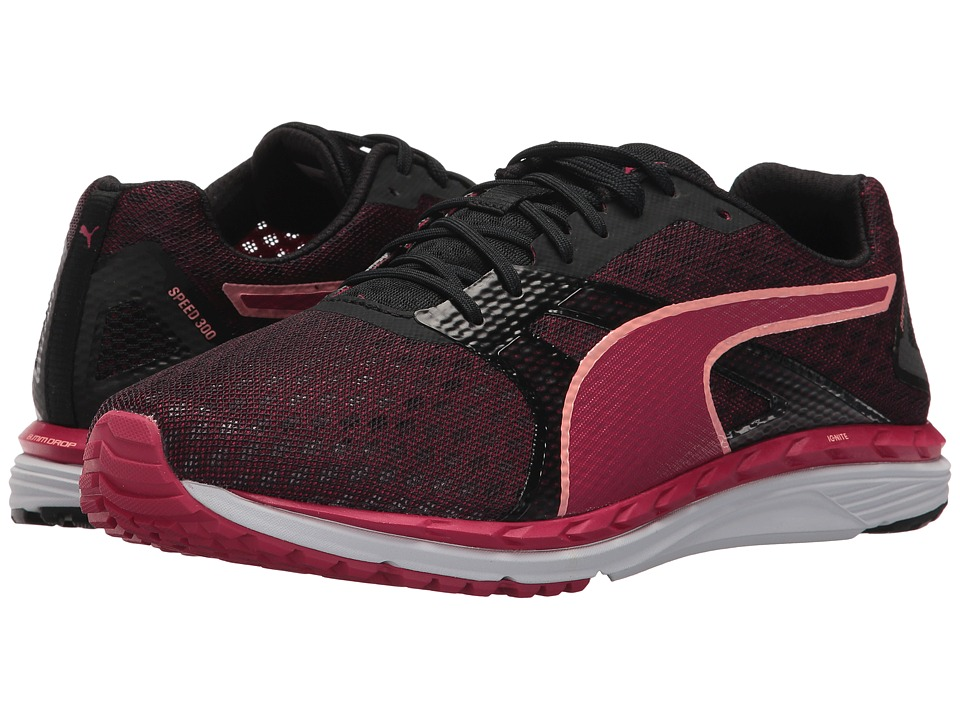 PUMA - Speed 300 Ignite 2 (Love Potion/Puma Black) Women's Shoes