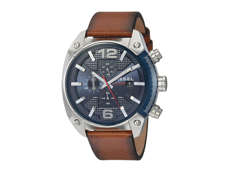 Diesel - DZ4400 (Tan/Blue) Watches
