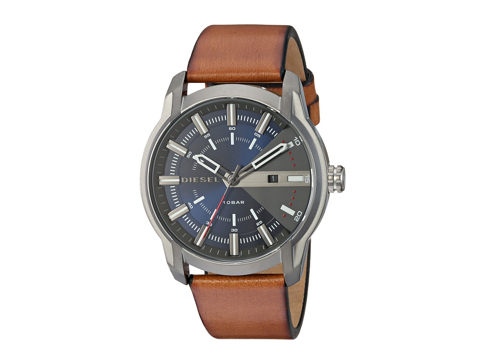 Diesel - DZ1784 (Marine/Brown) Watches