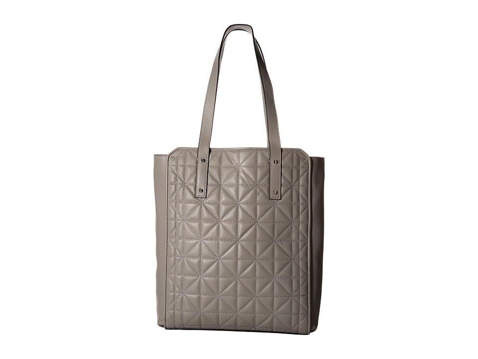 Ivanka Trump - Soho Newspaper Shopper (Stone Quilted) Shoulder Handbags