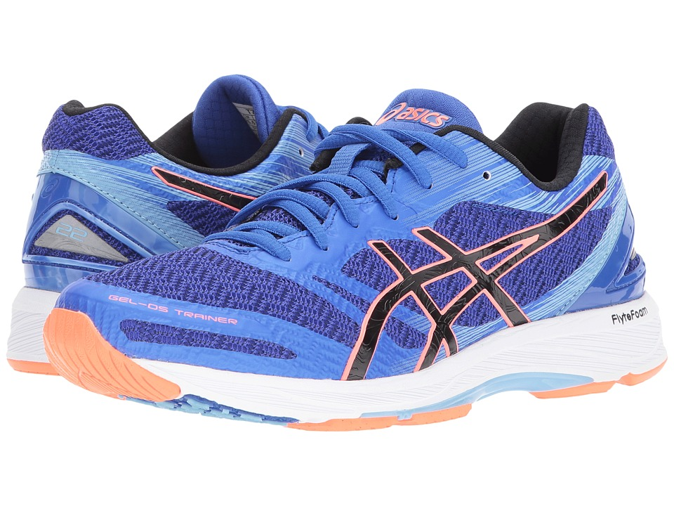 ASICS - GEL-DS Trainer(r) 22 (Blue/Purple/Black/Coral) Women's Shoes