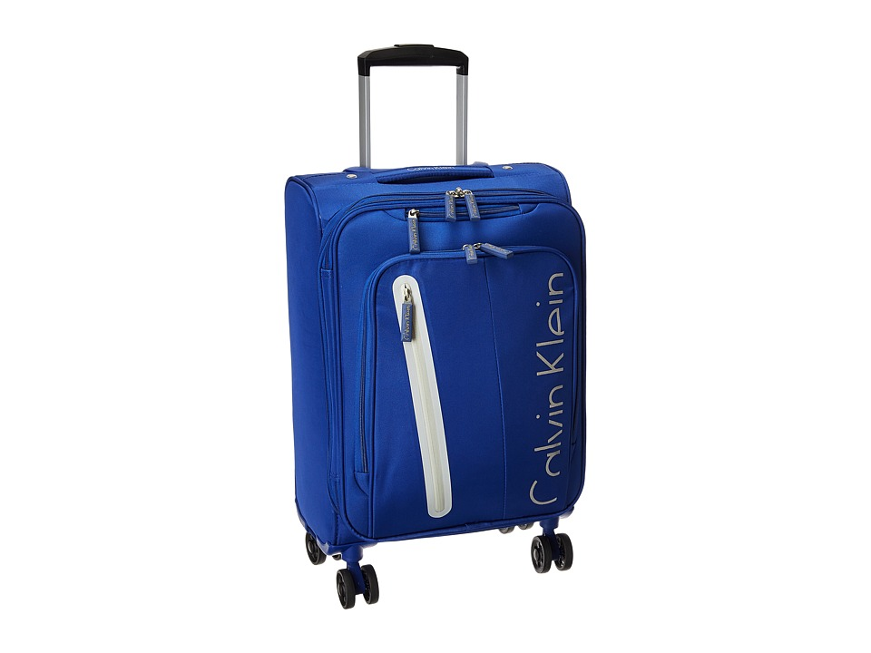 Calvin Klein - Whitehall 4.0 25 Expandable Spinner (Blue) Luggage