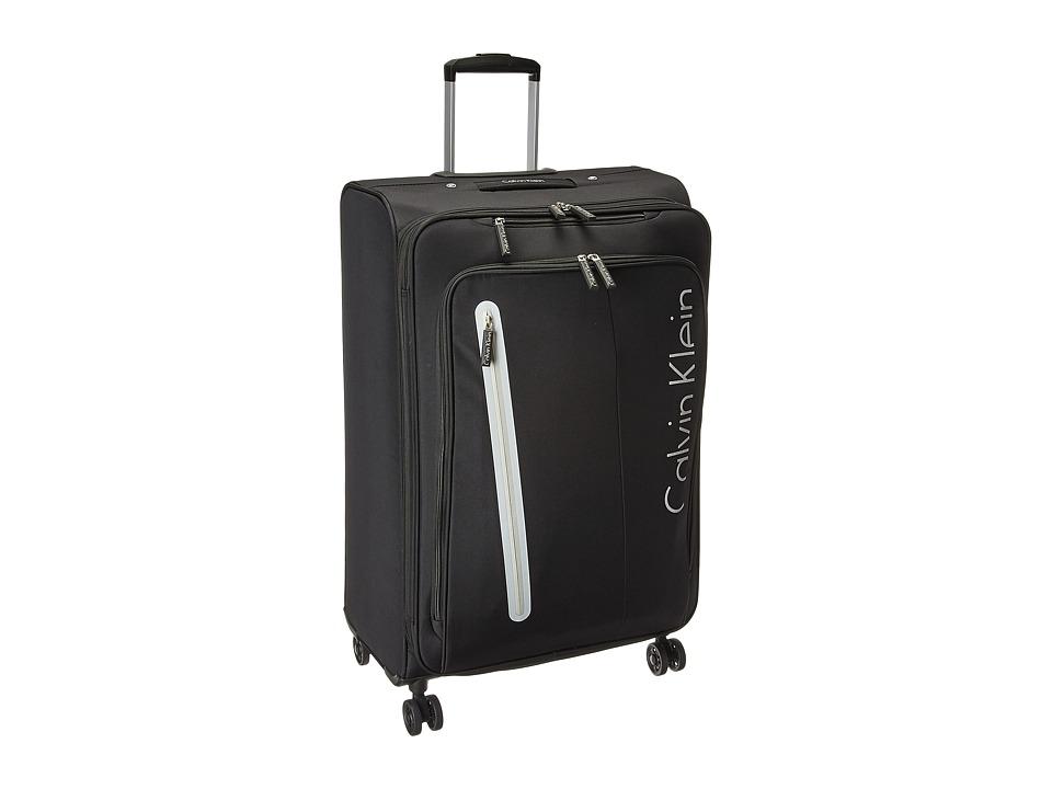 Calvin Klein - Whitehall 4.0 28 Expandable Spinner (Black) Luggage