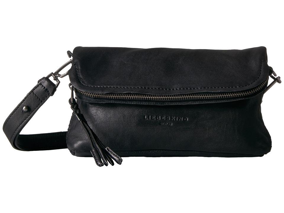 Liebeskind - Nyala S7 Crossbody (Nairobi Black) Cross Body Handbags