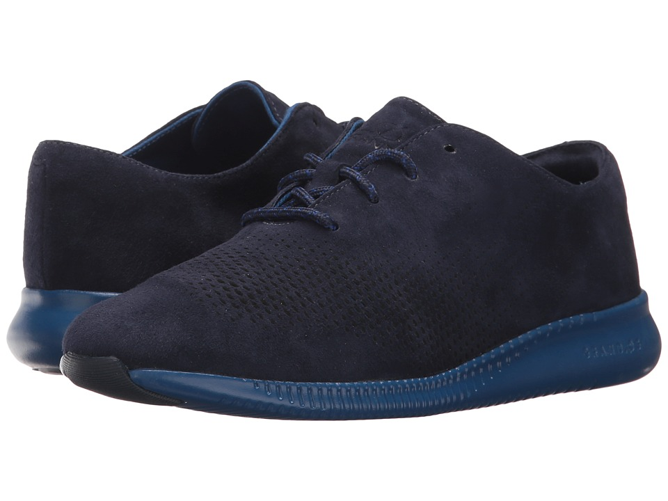 Cole Haan 2.Zerogrand LSR Wing (Marine Blue Suede/Limoges) Women