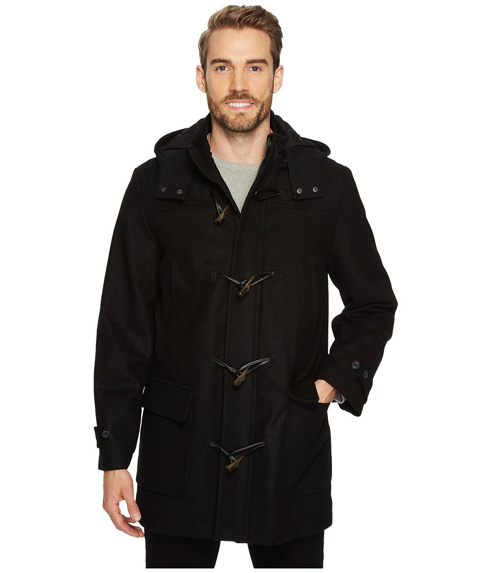 Nautica - Wool Toggle Coat (Black) Men's Coat