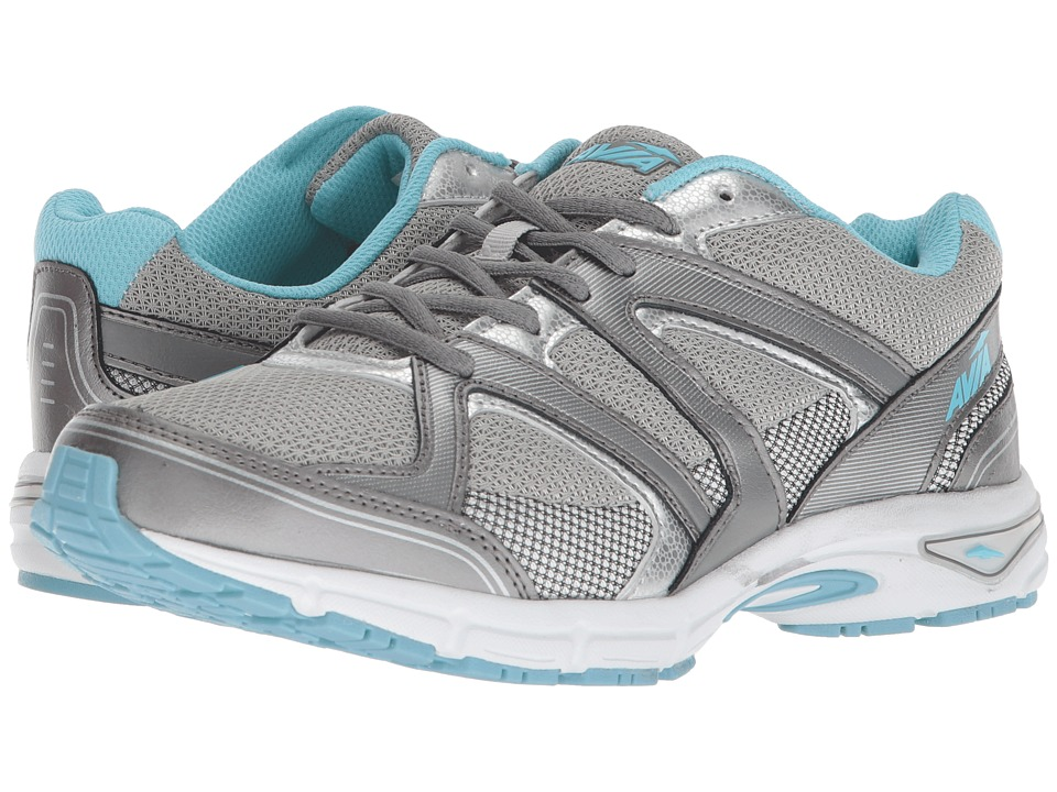 Avia Avi-Execute II (Chrome Silver/Metallic Steel Grey/Topaz Blue) Women