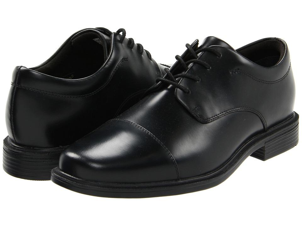 Rockport - Office Essentials Ellingwood (Black) Men's Lace Up Cap Toe Shoes