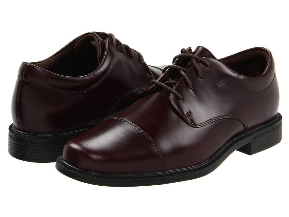 Rockport - Office Essentials Ellingwood (Oxblood) Men's Lace Up Cap Toe Shoes