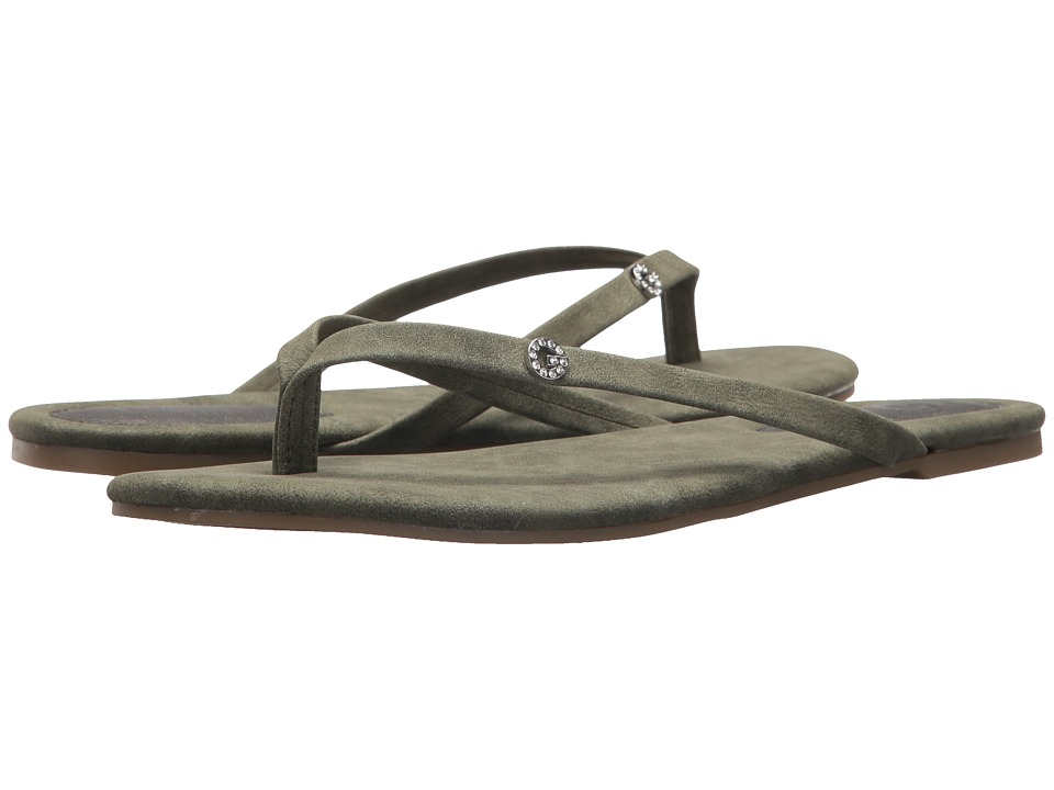 G by GUESS Bayla2 (Olive Distressed Suede) Women