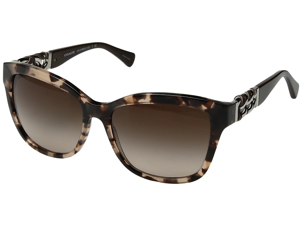 COACH - 0HC8156Q (Tortoise) Fashion Sunglasses