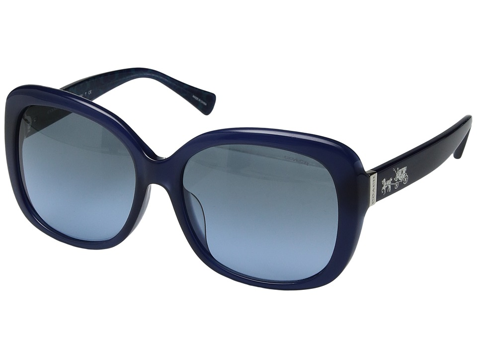 COACH - 0HC8158F (Blue) Fashion Sunglasses