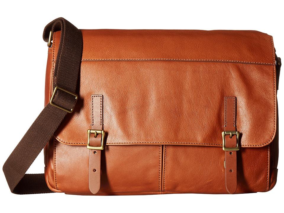 Fossil - Defender Messenger (Cognac 1) Messenger Bags