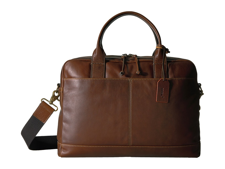 Fossil - Defender Workbag (Brown) Bags