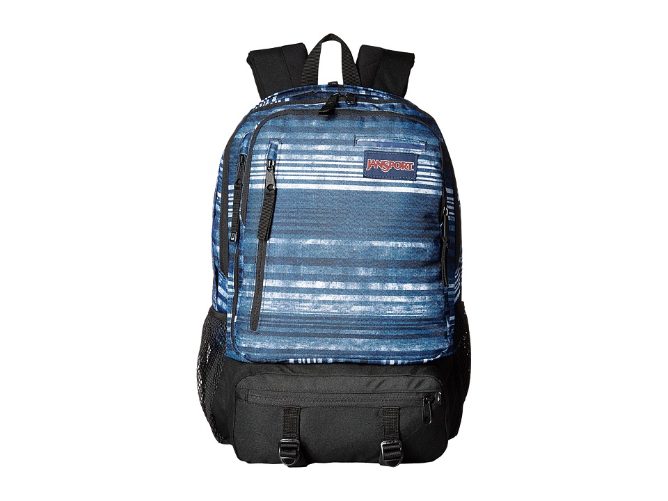 JanSport - Envoy (Multi Variegated Stripe) Backpack Bags