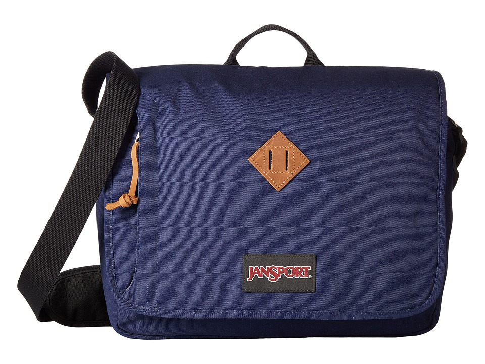 JanSport - Crosstalk Messenger (Navy Moonshine) Messenger Bags