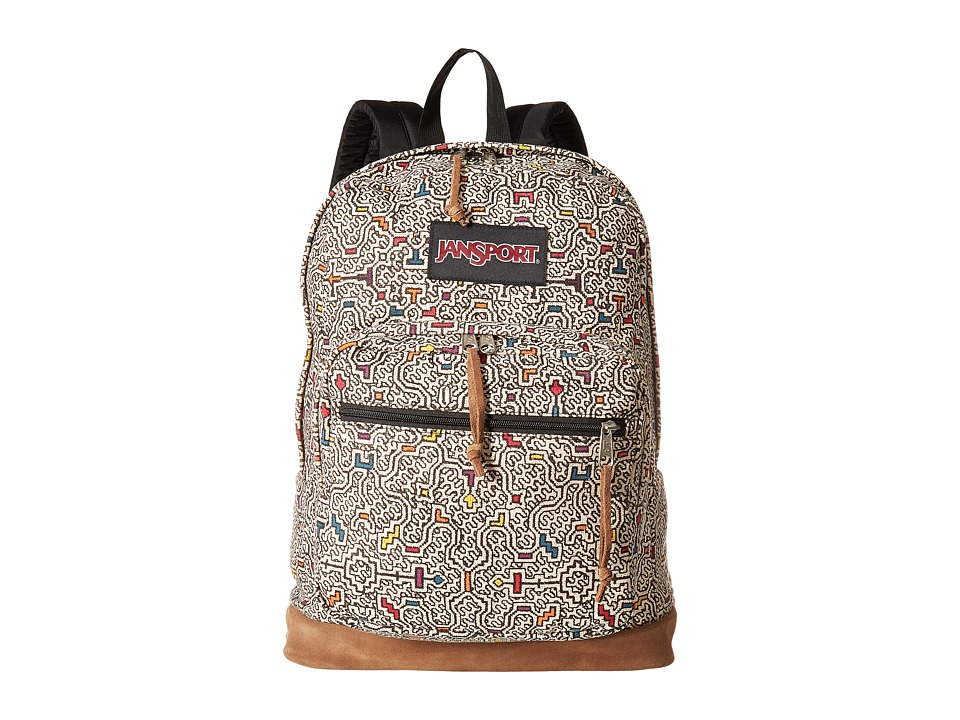 JanSport - Right Pack Expressions (Neutral Peruvian Maze) Backpack Bags