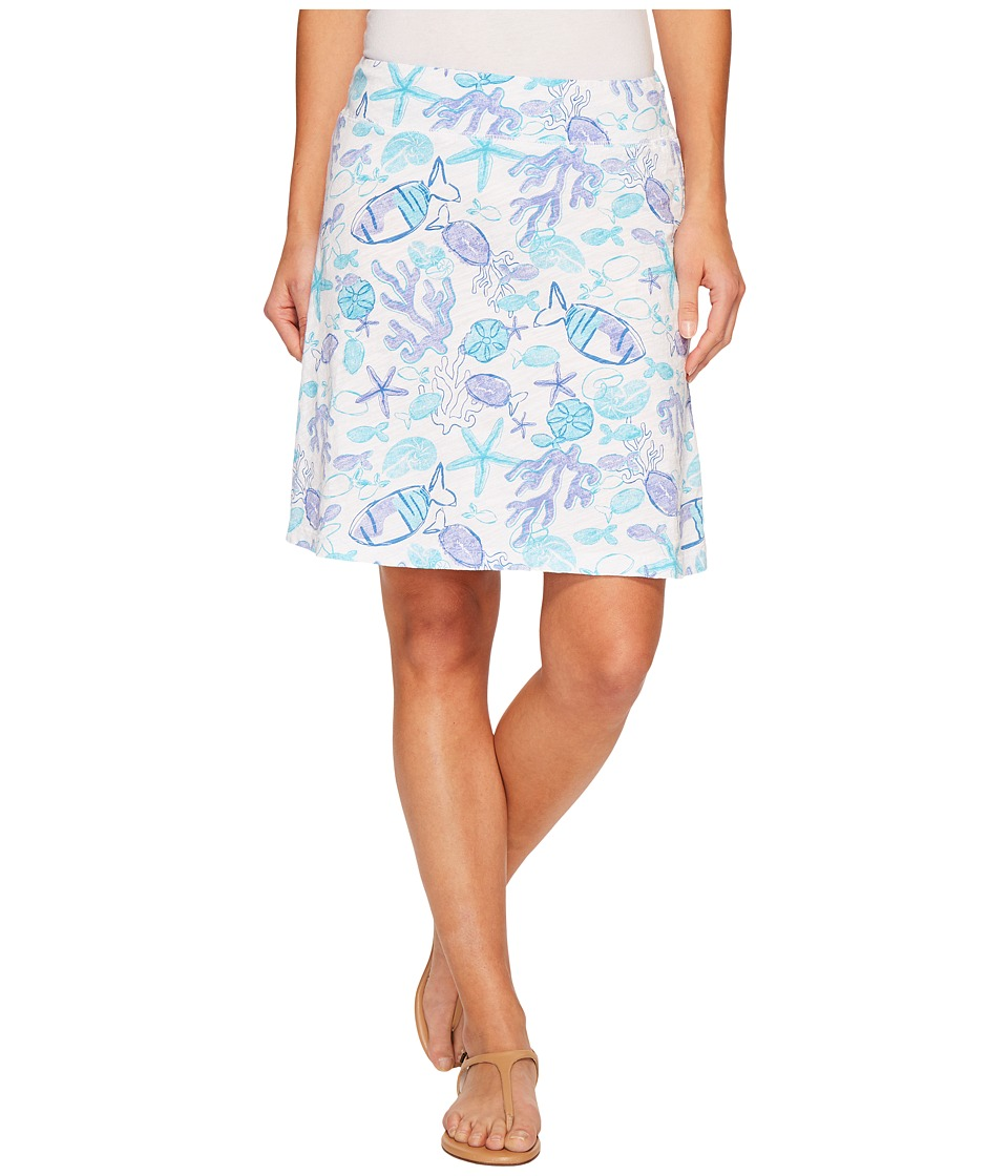 Fresh Produce Sea Life Marina Skirt (White) Women
