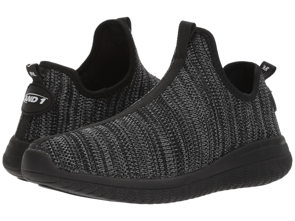 AND1 Too Chillin Too (Black Knit/Black) Men