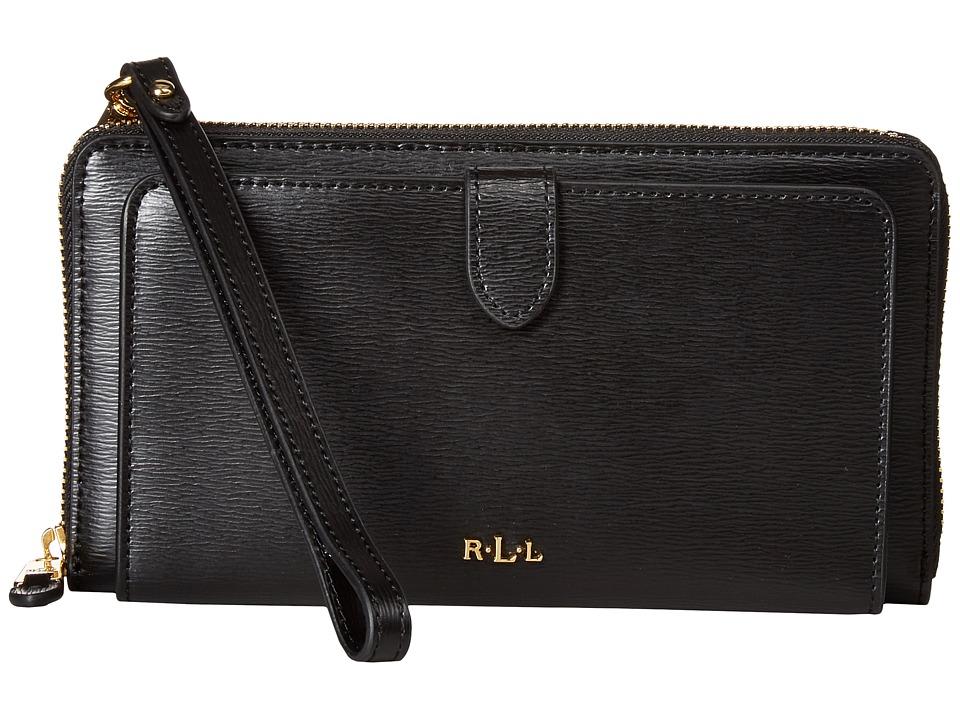 LAUREN Ralph Lauren - Newbury Everything Wristlet (Black) Wristlet Handbags