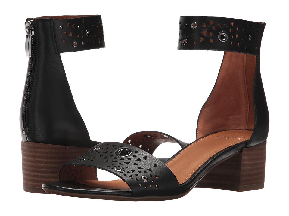 Franco Sarto Fidela (Black Nappa Leather) Women