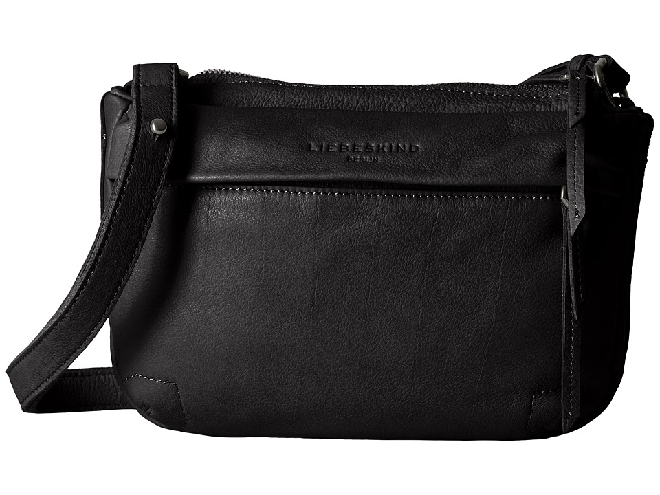 Liebeskind - Zulu Crossbody (Nairobi Black) Cross Body Handbags