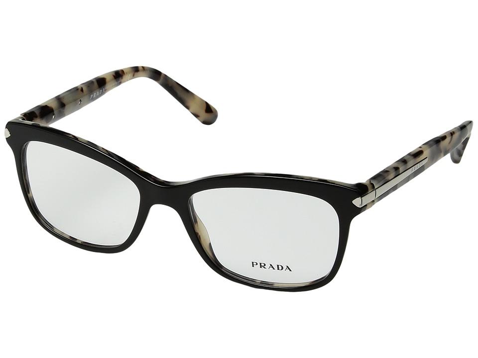 Prada - 0PR 10RV (Black) Fashion Sunglasses