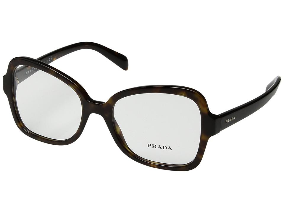 Prada - 0PR 25SV (Havana) Fashion Sunglasses