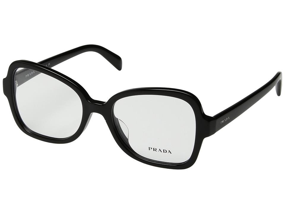Prada - 0PR 25SVF (Black) Fashion Sunglasses