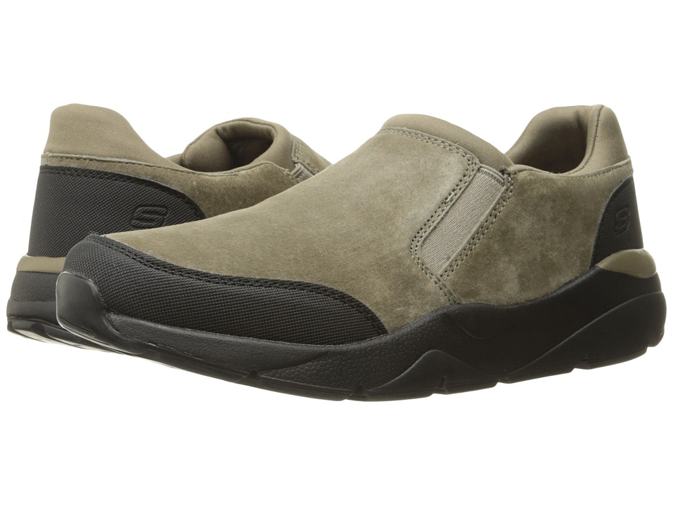 SKECHERS - Relaxed Fit Recent - Kendor (Taupe) Men's Shoes