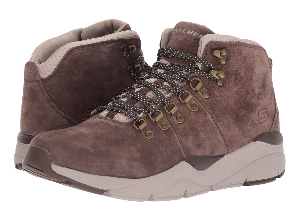 SKECHERS - Relaxed Fit Recent - Melven (Brown) Men's Shoes