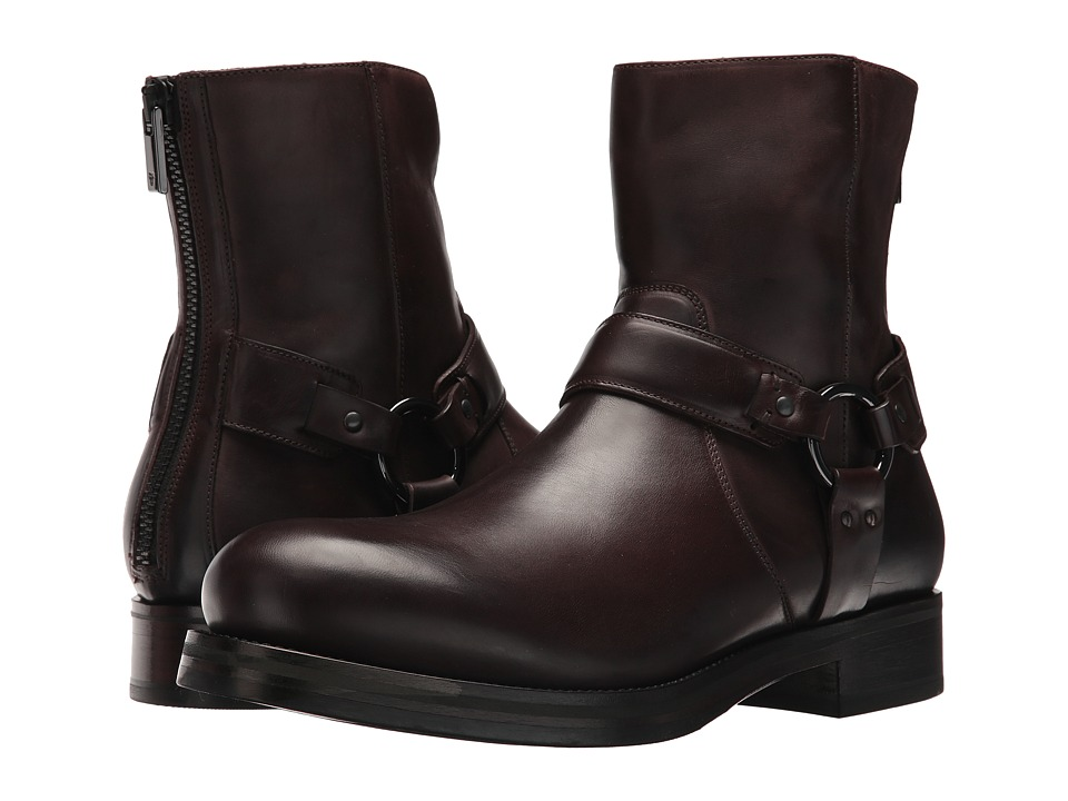 Frye Carter Harness (Dark Brown) Men