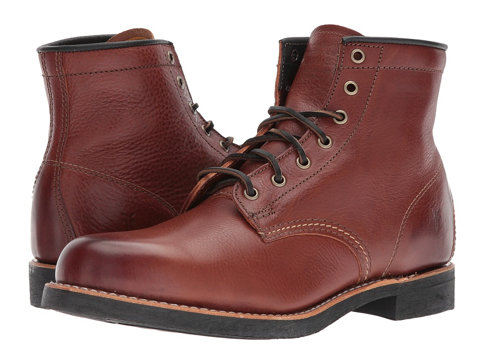 Frye - Arkansas Mid Lace (Redwood) Men's Boots