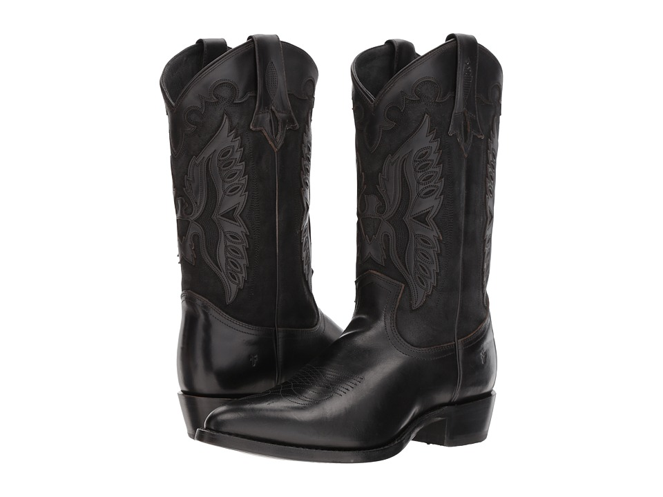 Frye - Billy Firebird (Black) Cowboy Boots