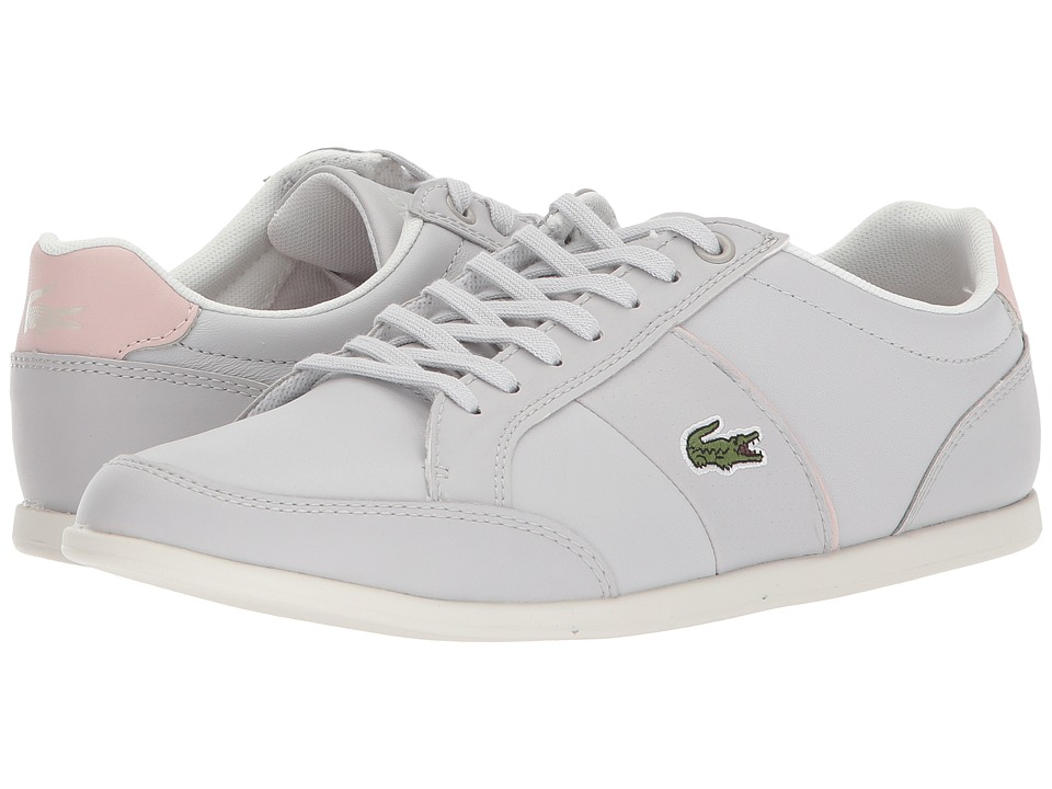 Lacoste Seforra (Light Grey/Light Pink) Women